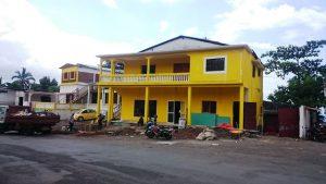 Le bureau régional de Telco à Anjouan en chantier