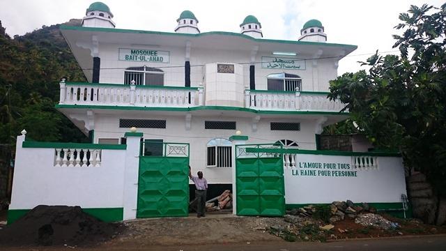 La mosquée ahmadie avant
