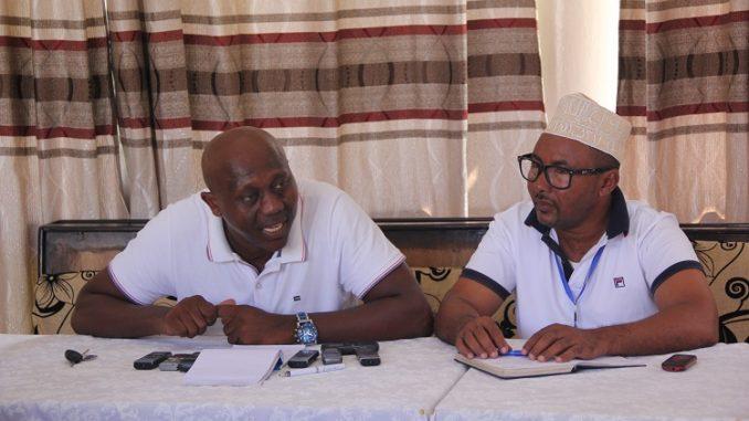 Maoulida Mbaé secrétaire général de Swauti défend la réouverture de la Baraka FM