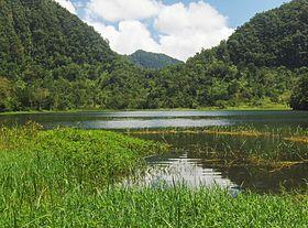 Lac Dzialandze Anjouan