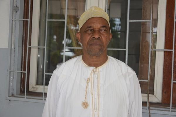 Le président de Jupiter club de Moroni, Roland Mlanao alias Yaka