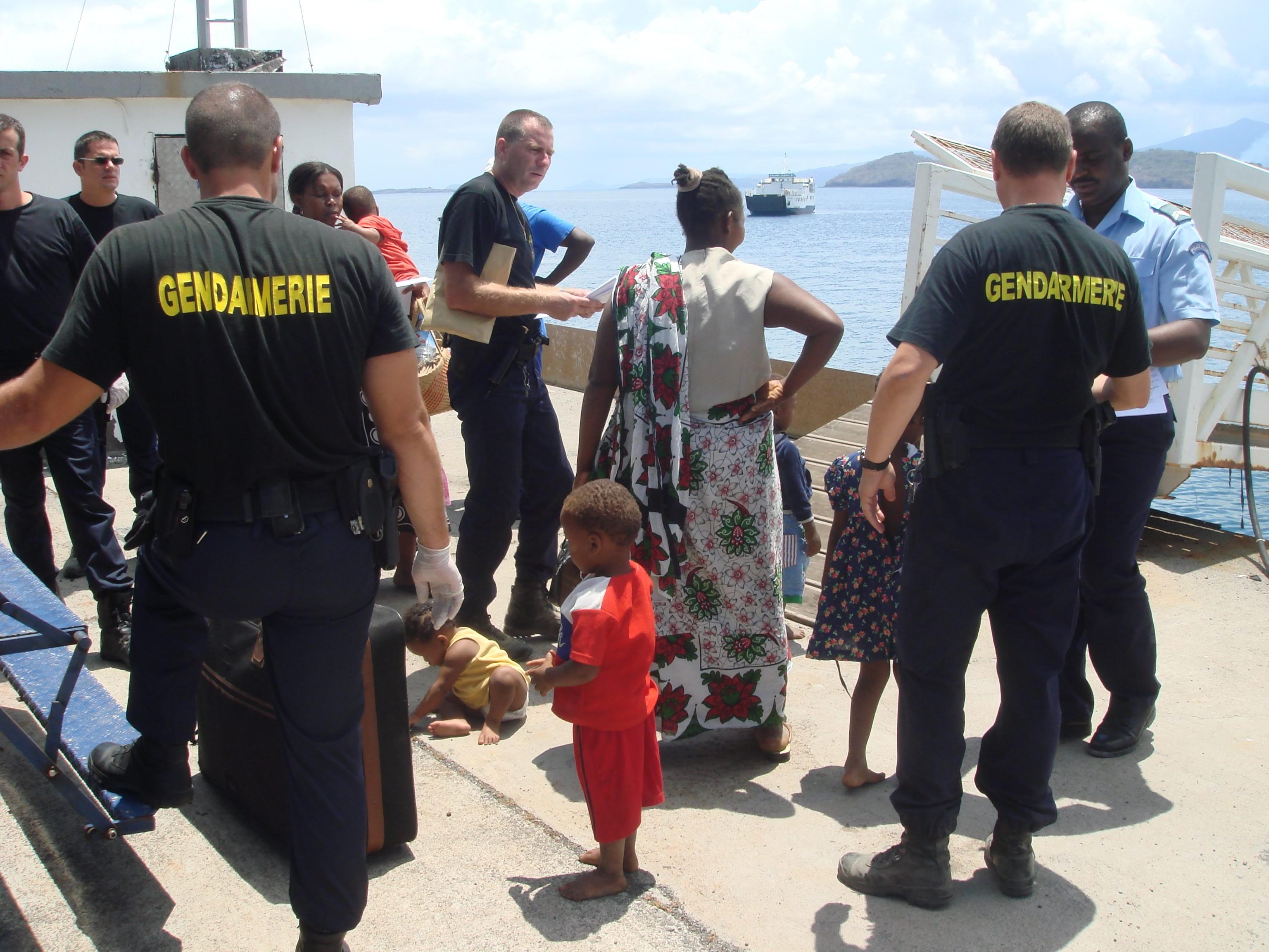 Mayotte : les reconduites des comoriens de trois autres îles et africains vers Anjouan  ont repris