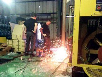 Eneria en plein chantier à N'trenani(credit image EDA)