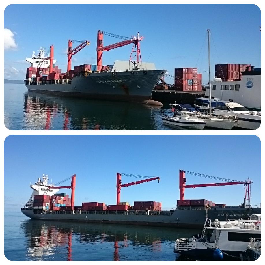 Le port de Mutsamudu en danger