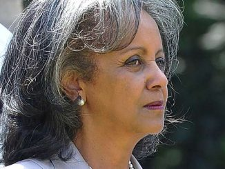 (FILES) In this file photo taken on September 9, 2015 Director General of the United Nations Office at Nairobi (UNON) Sahle-Work Zewde is seen following a meeting with UN officials in Nairobi . - Ethiopian lawmakers on October 25, 2018, appointed a woman to the largely ceremonial position of president for the first time. Career diplomat Sahle-Work Zewde was chosen in a unanimous vote to replace Mulatu Teshome who resigned. Sahle-Work, has served as ambassador to France, Djibouti, Senegal and the regional bloc Intergovernmental Authority on Development (IGAD). (Photo by Simon MAINA / AFP)